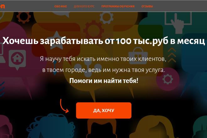 Создание сайтов на конструкторе сайтов WIX, nethouse 37 - kwork.ru