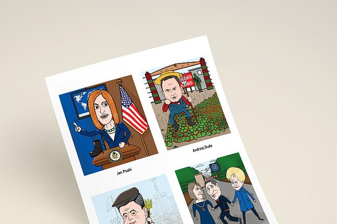 Нарисую для Вас иллюстрации в жанре карикатуры 130 - kwork.ru