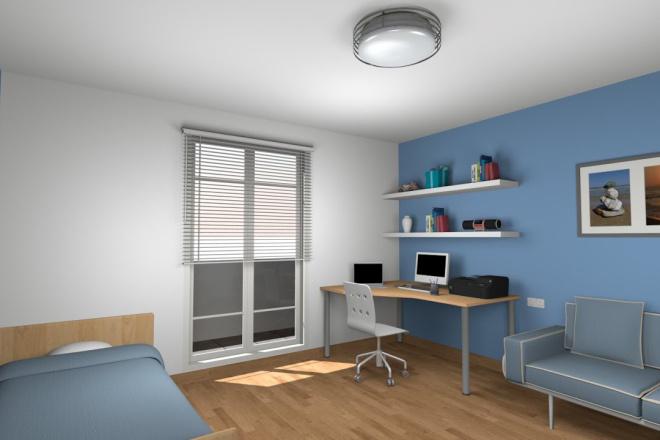 3d визуализация квартир и домов 2 - kwork.ru