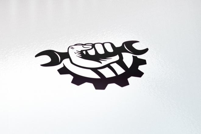 Логотип в 3 вариантах, визуализация в подарок 4 - kwork.ru