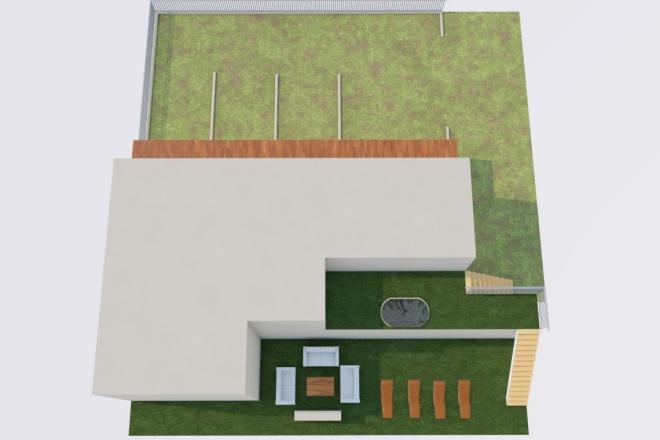 Создам планировку дома, квартиры с мебелью 21 - kwork.ru