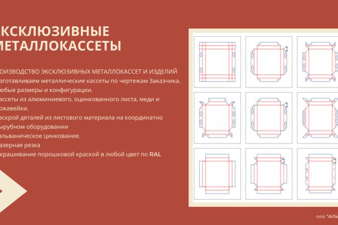 Стильный дизайн презентации 187 - kwork.ru