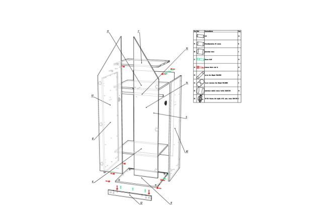 Конструкторская документация для изготовления мебели 46 - kwork.ru