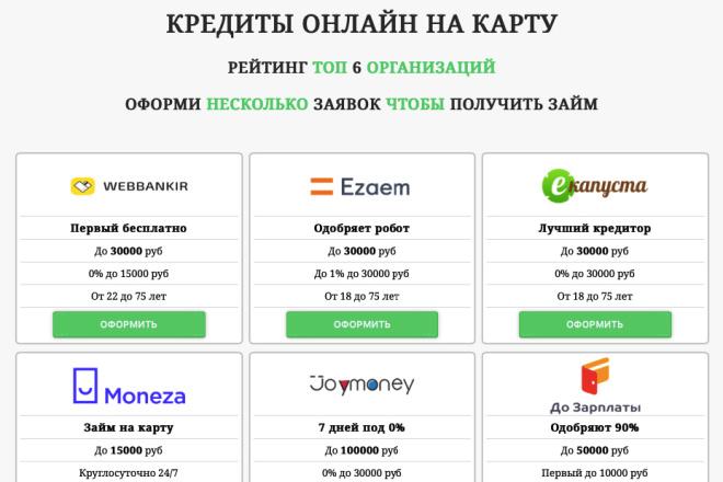 Скопирую Landing page, одностраничный сайт и установлю редактор 45 - kwork.ru