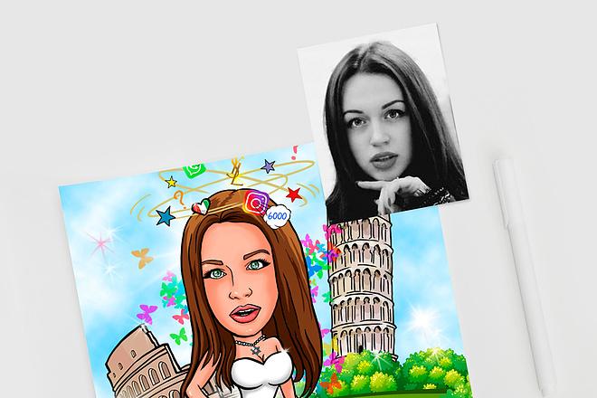 Нарисую для Вас иллюстрации в жанре карикатуры 243 - kwork.ru