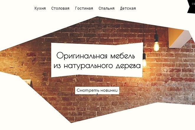 Создам лендинг с хостингом в подарок, разработка лендинг пейдж 6 - kwork.ru