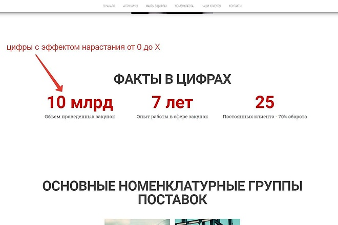 Лендинг для любых целей на Wordpress 44 - kwork.ru