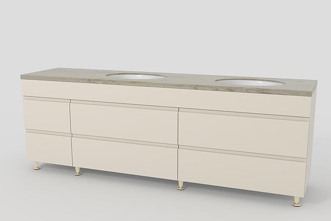 Визуализация мебели, предметная, в интерьере 28 - kwork.ru