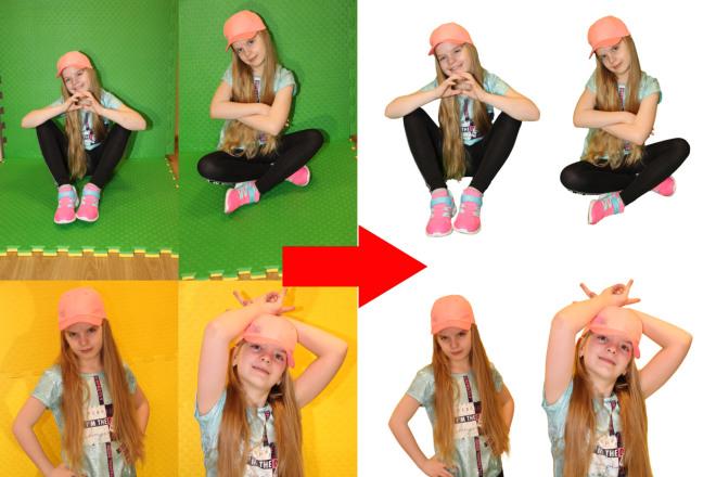 Работа в photoshop 11 - kwork.ru