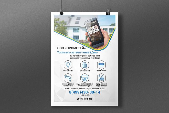 Разработаю дизайна постера, плаката, афиши 22 - kwork.ru