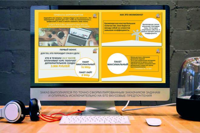 Дизайн Бизнес Презентаций 23 - kwork.ru