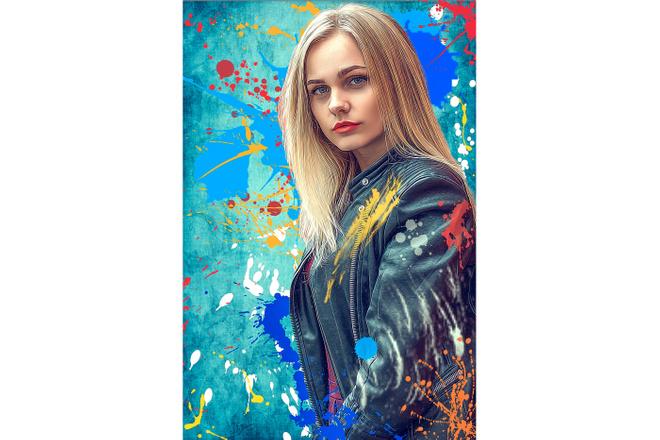 Дрим Арт портрет 65 - kwork.ru