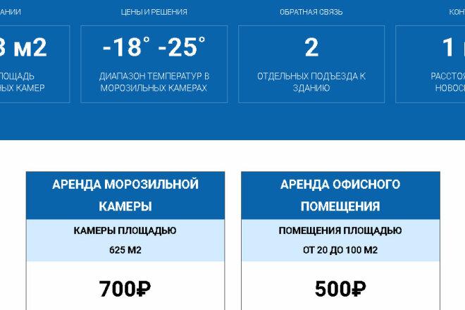 Копирование Landing Page и перенос на Wordpress 23 - kwork.ru