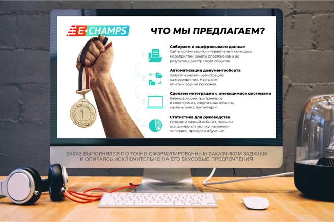 Дизайн Бизнес Презентаций 12 - kwork.ru