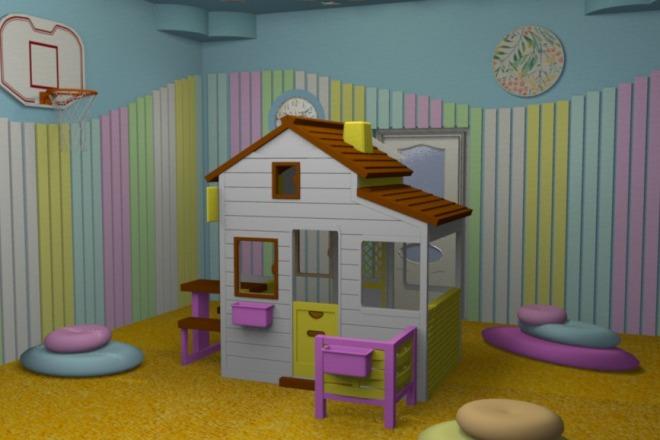 3D визуализация помещений 2 - kwork.ru