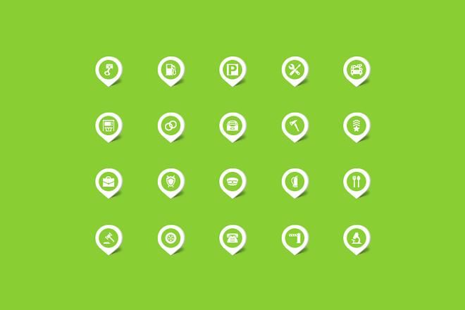 Создание иконок для сайта, приложения 25 - kwork.ru