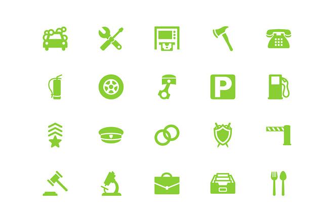 Создание иконок для сайта, приложения 26 - kwork.ru