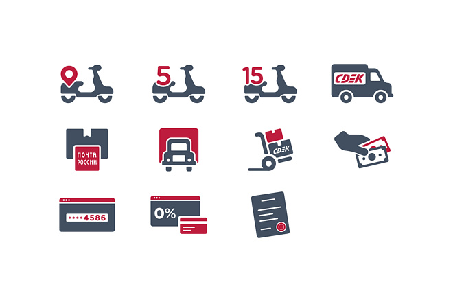 Создание иконок для сайта, приложения 24 - kwork.ru