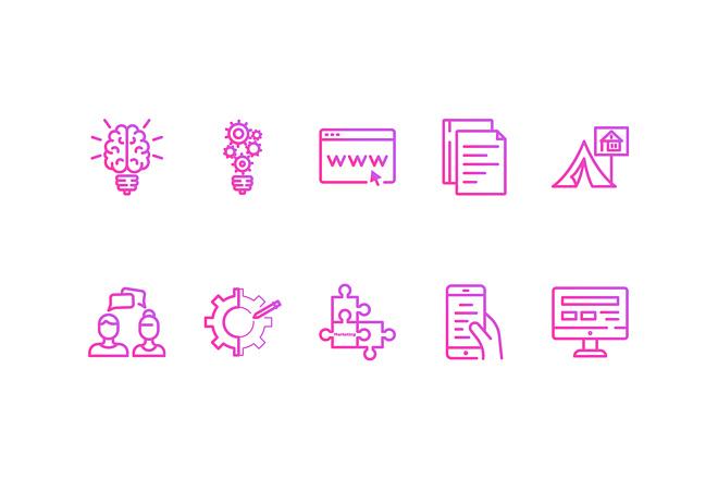 Создание иконок для сайта, приложения 18 - kwork.ru