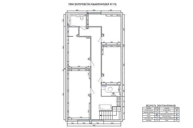 Планировочное решение вашего дома, квартиры, или офиса 49 - kwork.ru