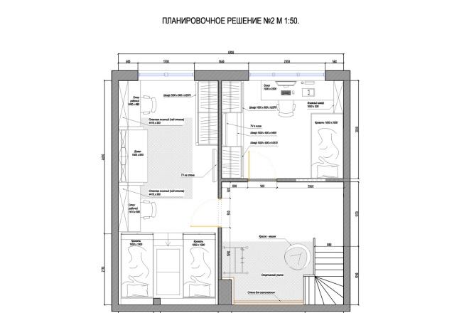 Планировочное решение вашего дома, квартиры, или офиса 59 - kwork.ru