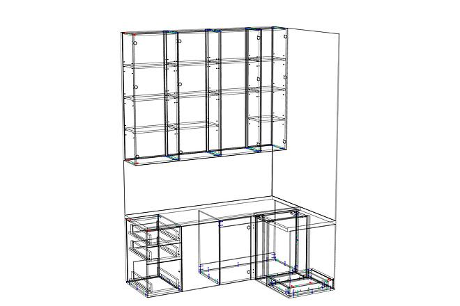Конструкторская документация для изготовления мебели 96 - kwork.ru