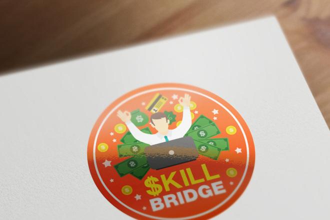 Сделаю логотип в круглой форме 82 - kwork.ru