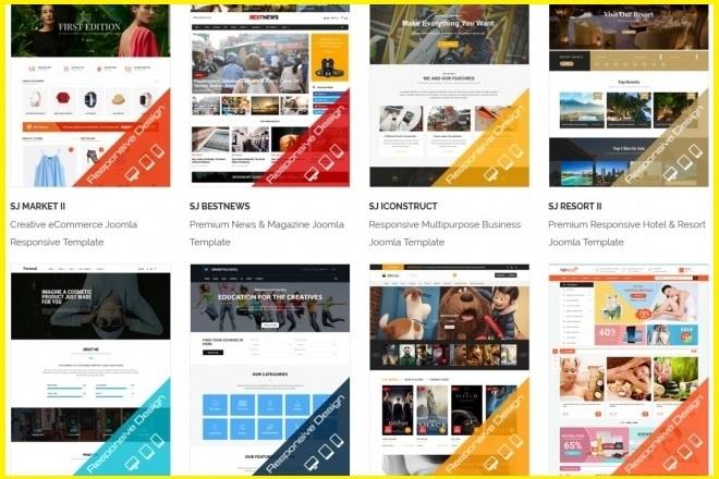Joomla премиум набор шаблонов и расширений 6 - kwork.ru
