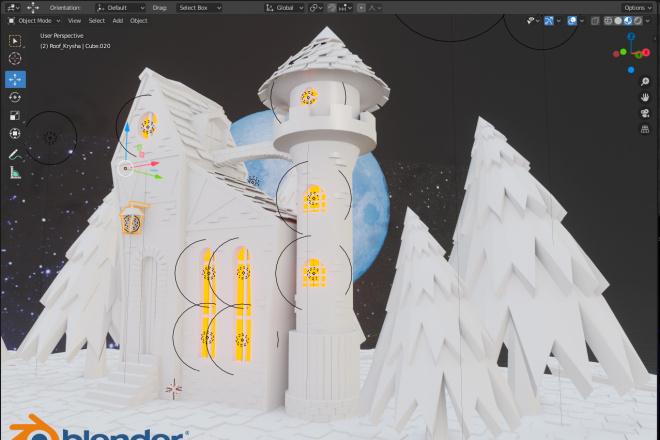 3D Modeling. Создам 3D модель, фигуру, объект, персонажа 6 - kwork.ru