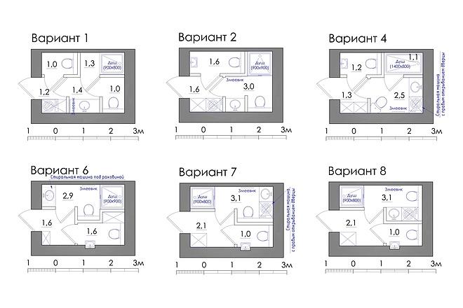 Планировка квартиры или жилого дома, перепланировка и визуализация 32 - kwork.ru