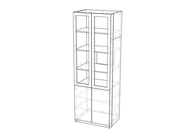 Конструкторская документация для изготовления мебели 131 - kwork.ru