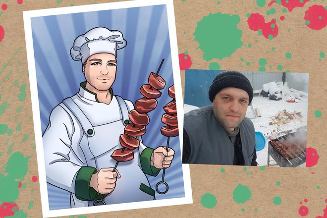 Портрет в стиле аниме или манги 11 - kwork.ru