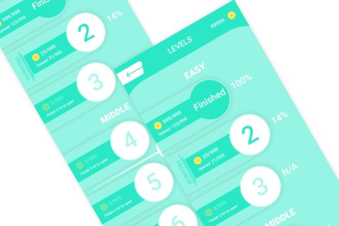 Дизайн одного экрана приложения Android или iOS 3 - kwork.ru