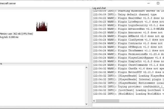 Создам сервер Minecraft с донатом и плагинами за 1-2 дня 200 р 1 - kwork.ru