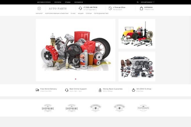 Установлю и настрою интернет-магазин на OpenCart за 1 день 9 - kwork.ru