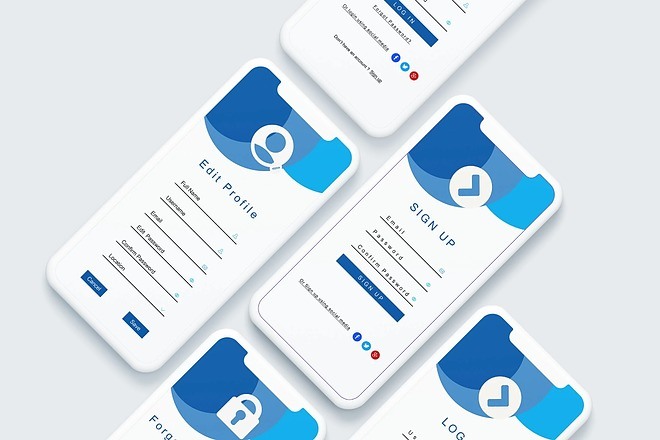 UI UX Дизайн экрана iOS или Android приложения 2 - kwork.ru