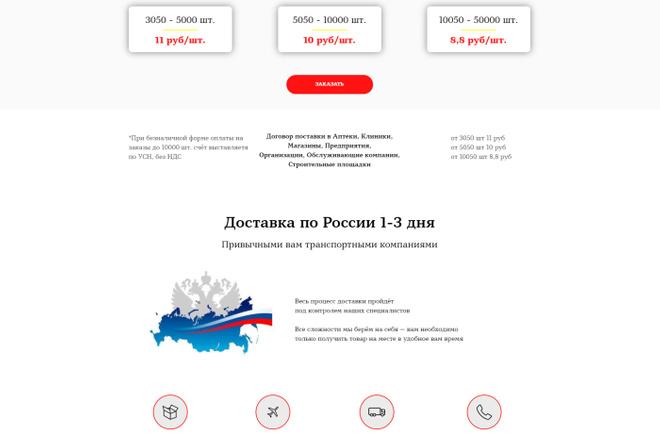 Создание современного лендинга на конструкторе Тильда 10 - kwork.ru