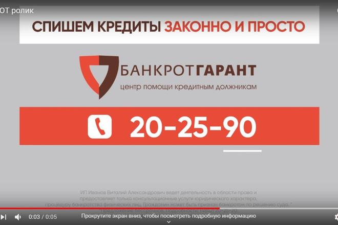 Видеоролик высокого качества 4 - kwork.ru