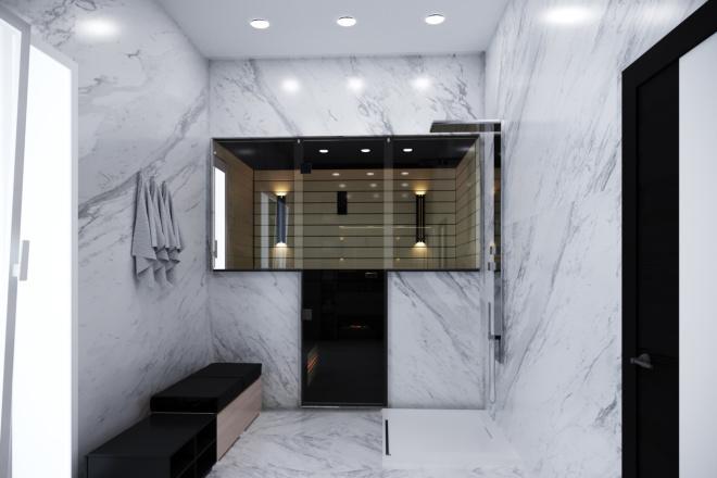 Дизайн ванной комнаты 10 - kwork.ru