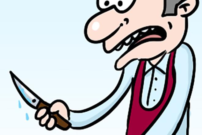 Нарисую простую иллюстрацию в жанре карикатуры 24 - kwork.ru