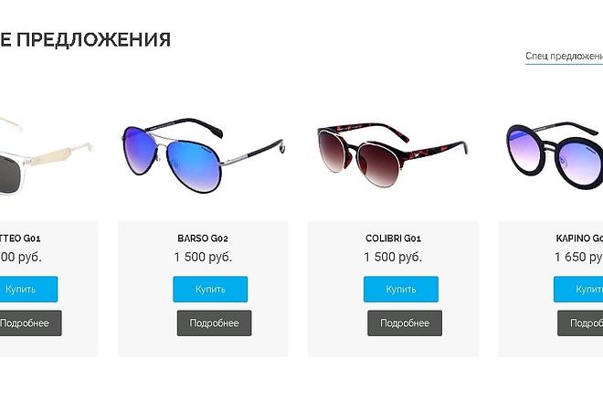 Онлайн-магазин под ключ 1 - kwork.ru