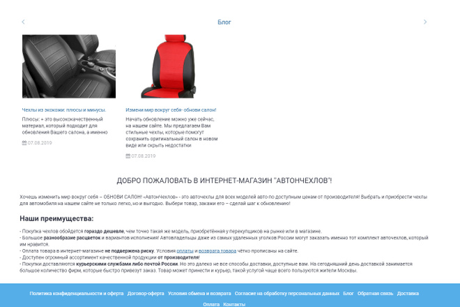 Профессионально создам интернет-магазин на insales + 20 дней бесплатно 62 - kwork.ru