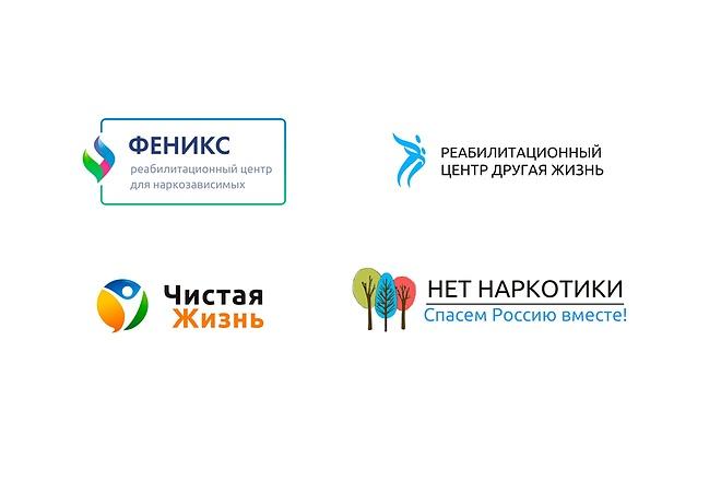 Отрисовка растрового логотипа в вектор 13 - kwork.ru