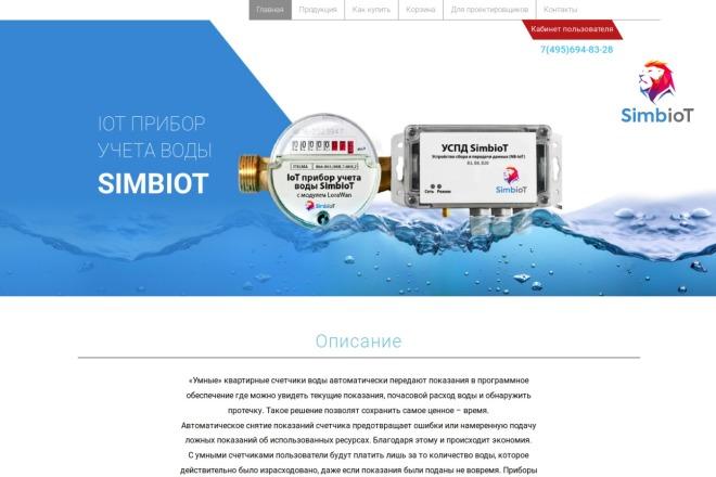 Landing Page на Wordpress 2 - kwork.ru