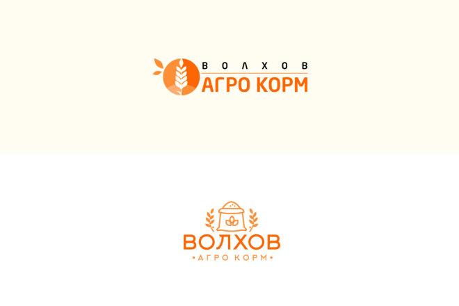 Создам 2 варианта логотипа + исходник 38 - kwork.ru