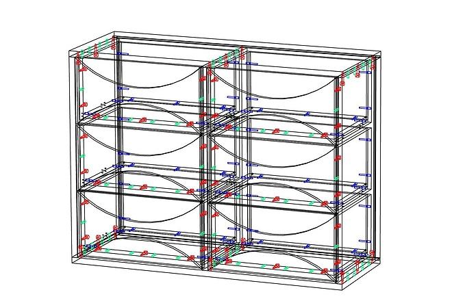 Конструкторская документация для изготовления мебели 107 - kwork.ru