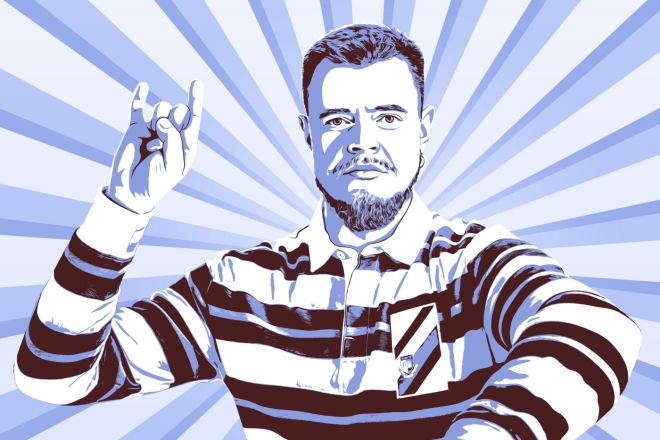 Качественный поп-арт портрет по вашей фотографии 6 - kwork.ru
