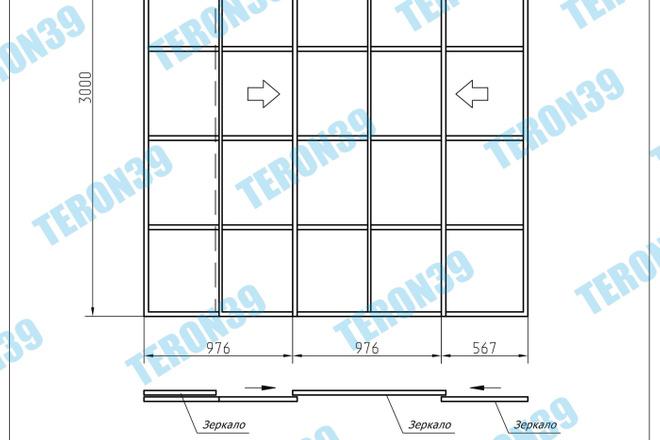 Выполняю простые и сложные чертежи в AutoCAD 16 - kwork.ru