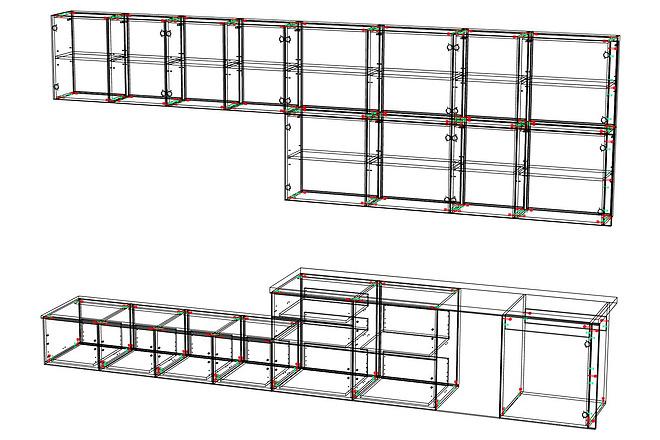 Конструкторская документация для изготовления мебели 78 - kwork.ru