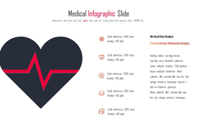 Инфографика на медицинскую тему. Шаблоны PowerPoint 19 - kwork.ru